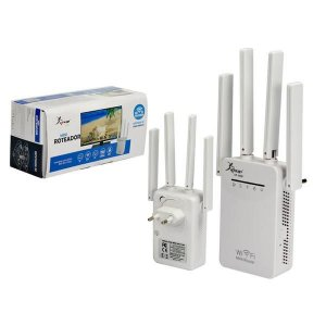 Repetidor Wifi 4 Antenas 300mbps KNUP KP-3009