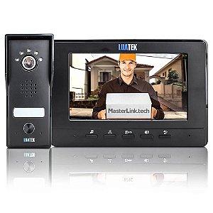 Vídeo Porteiro Eletrônico Câmera Visão Noturna Tela 7 Polegadas LKM-1102