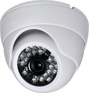 Câmera Dome AHD 720P 1/4 2.8mm 1.0MP - LUATEK LCC210-24B
