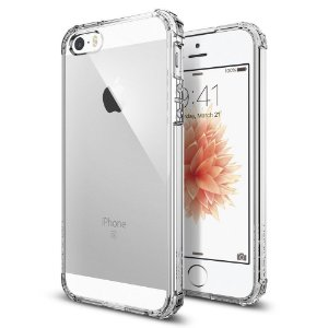 Capa Case Flexível Iphone 5 Transparente Anti Queda