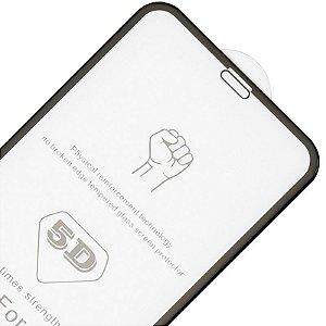 Película De Vidro Temperado Iphone X 5D (Tela Inteira)