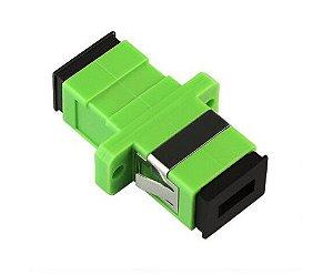 Adaptador Acoplador Óptico Simplex SM Sc/Apc (Verde) - 1 Unidade