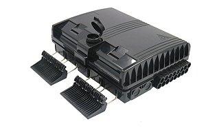 Caixa De Terminação Óptica (CTO) Ftth 16 Portas - Modular