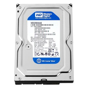 HD 320GB Sata Western Digital 16MB Cache 7.200RPM 3.5 WD3200AAKS