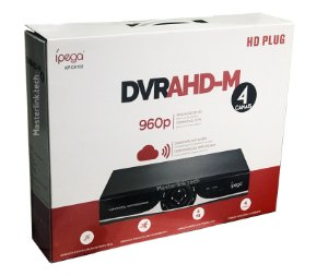 Dvr HD 4 Canais 5 Em 1 720p Nuvem - Ipega