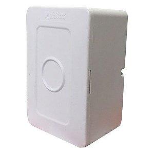 Mini Caixa de Sobrepor Para Cftv Com Tampa Cega - Multitoc