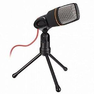 Microfone Condensador Com Fio - Q888