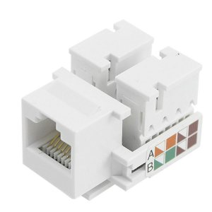 Keystone Rj45 Branco Cat5e