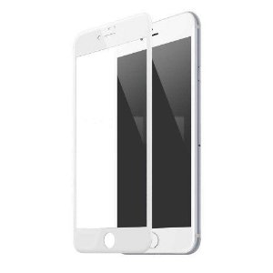 Película De Vidro Temperado 3D Iphone 7 - Branca