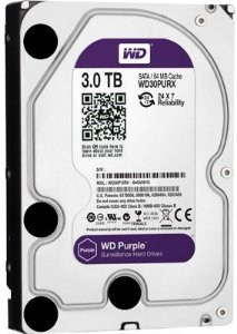 HD 3TB INTERNO 3.5 SATA WESTERN DIGITAL PURPLE - WD30PURX