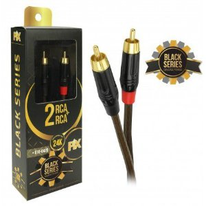 Cabo 2 RCA x 2 RCA Premium Black Series 018-0429