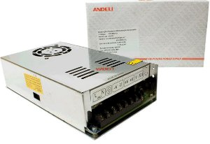 Fonte Chaveada 12V 25A 300w Bi-volt MS-300-12 Andeli