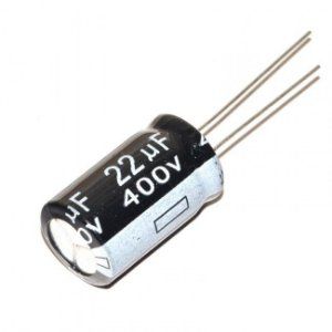 Capacitor Eletrolítico 22uf 400V 105 Graus - 22x400-105