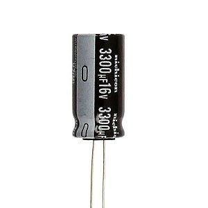 Capacitor Eletrolítico 3300uf 16V 105 Graus - 3300x16-105