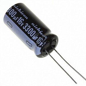 Capacitor Eletrolítico 3300uf 6.3V 105 Graus - 3300x1,6V-105