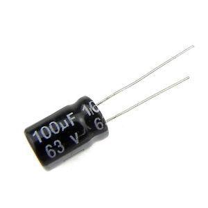 Capacitor Eletrolítico 100uf 63V 105 Graus - 100x63-105