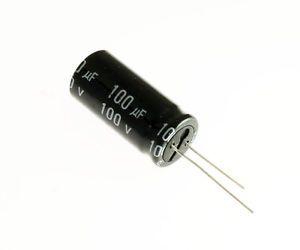 Capacitor Eletrolítico 100uf 100V Bipolar 105 Graus - 100x100-105BP