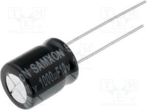 Capacitor Eletrolítico 1000uf 10V 105 Graus - 1000x10-105