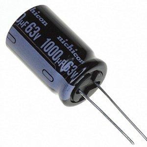 Capacitor Eletrolítico 1000uf 63V 105 Graus - 1000x63-105