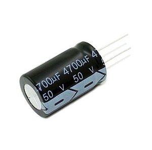 Capacitor Eletrolítico 4700uf 50V 105 Graus - 47x100-105