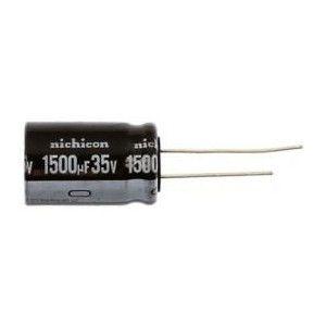 Capacitor Eletrolítico 1500uf 35V 105 Graus - 1500x35-105
