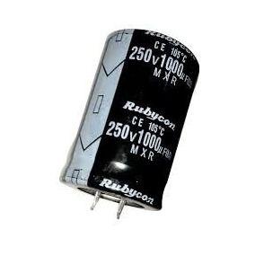 Capacitor Eletrolítico 1000uf 250V 105 Graus - 1000x250-105