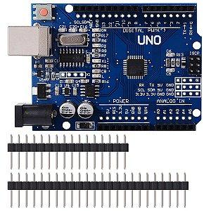 Arduino UNO R3 MEGA328P Com Cabo Usb