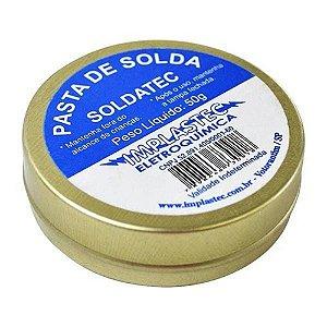 Pasta De Solda Implastec Soldatec 50g