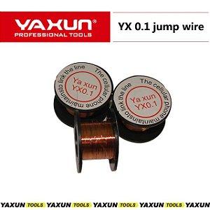 Fio De Cobre Esmaltado Para Jumper Original Yaxun Yx-0.1