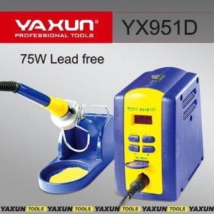 Estação De Solda Digital Yaxun 951D Lead Free 75W 220V - Profissional