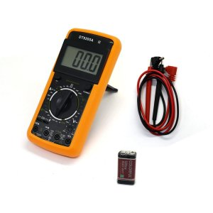 Multímetro Digital DT-9205A Com Capacímetro e Aviso Sonoro