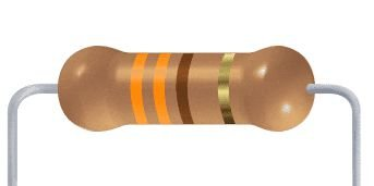 Resistor CF - 330R 5% 1/4W Axial