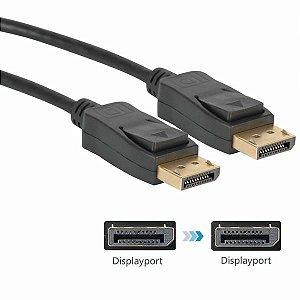 Cabo Displayport 1.8 Metros v1.2 1080P