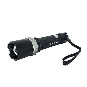 Lanterna Tática Led Cree Q5 Com Zoom e 2 Baterias - 8466