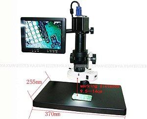 Microscópio Digital Profissional Com Monitor Yaxun AK-23