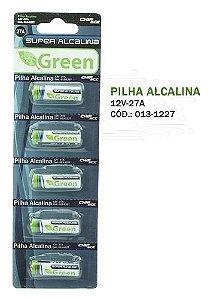 BATERIA 12V 27A ALCALINA 5 unidades - Green