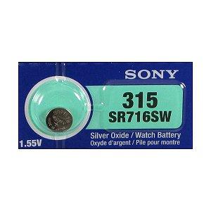Bateria 315 SR716SW Sony - 1 Unidade