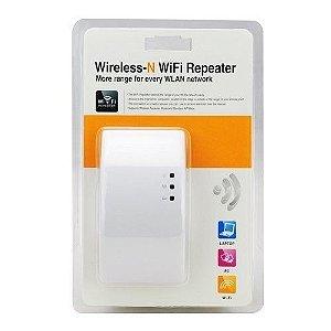Repetidor Expansor Wifi Wireless 300mbps C/ Botão Wps
