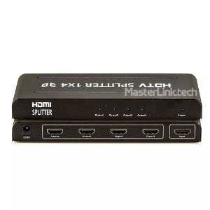 Distribuidor Splitter Hdmi - 1x4