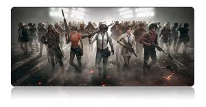 Mouse Pad Gamer Extra Grande 70x35x3mm Battlegrounds - Exbom MP-7035C27