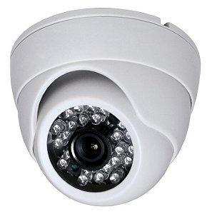 Câmera Dome Branca Infra. 1/3 25 Metros - Aprica