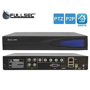Dvr HD 4 Canais 5 Em 1 1080N FSM-XVR4 Fullsec