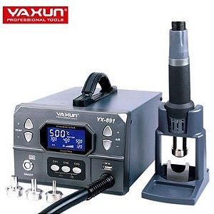 Estação de Retrabalho Soprador De Ar Profissional 1000w 220v - Yaxun Yx-891