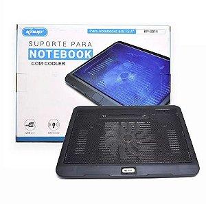 Suporte Base Com Cooler Para Notebook Via Usb - Knup KP-9014