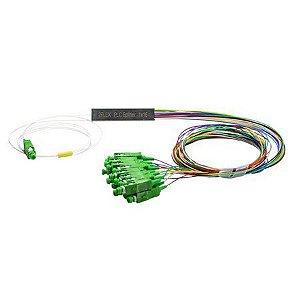 Splitter Conectorizado Balanceado 1x16 Sc/Apc (Verde) - 2Flex
