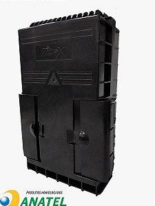 Caixa De Terminação Óptica (CTO) Ftth 16 Portas - 2Flex