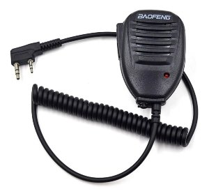 Microfone Baofeng Mini Ptt Externo Para Rádio Ht Comunicador