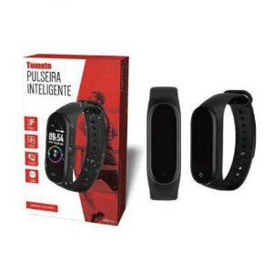 Pulseira Smart MTR-24 Bluetooth - Tomate