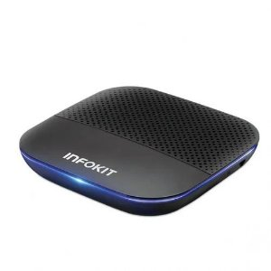 Smart TV Box Android 9 4k 1GB+8GB Real - Infokit TVB-808G