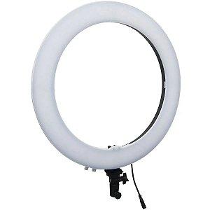 Iluminador ring light Grande 49cm 19 Polegadas 320 Leds 72w - Exbom